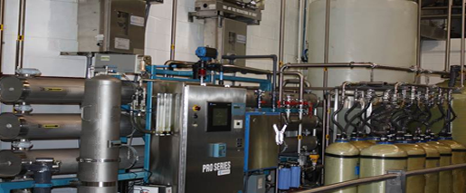 Deionized Water Reverse Osmosis Total Water
