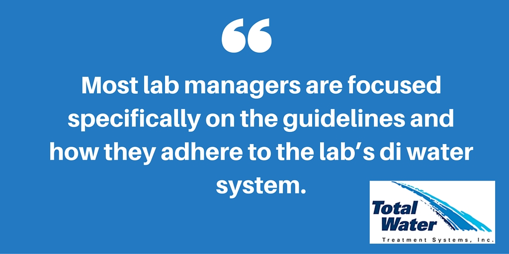 Lab managers focus on guidelines