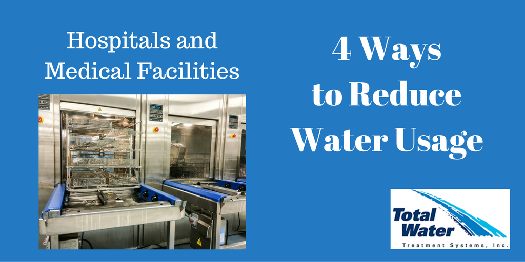 Four Ways Hospitals and Medical Facilities Can Reduce Water Usage