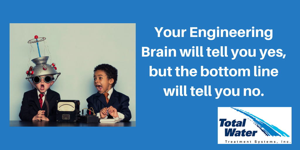 As an engineer, you're afflicted with an Engineering Brain.