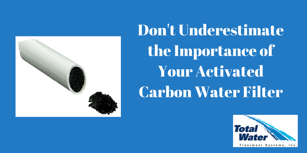 The Importance of your activated carbon water filter.